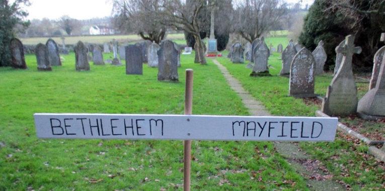 Destination: Bethlehem! Location: Mayfield